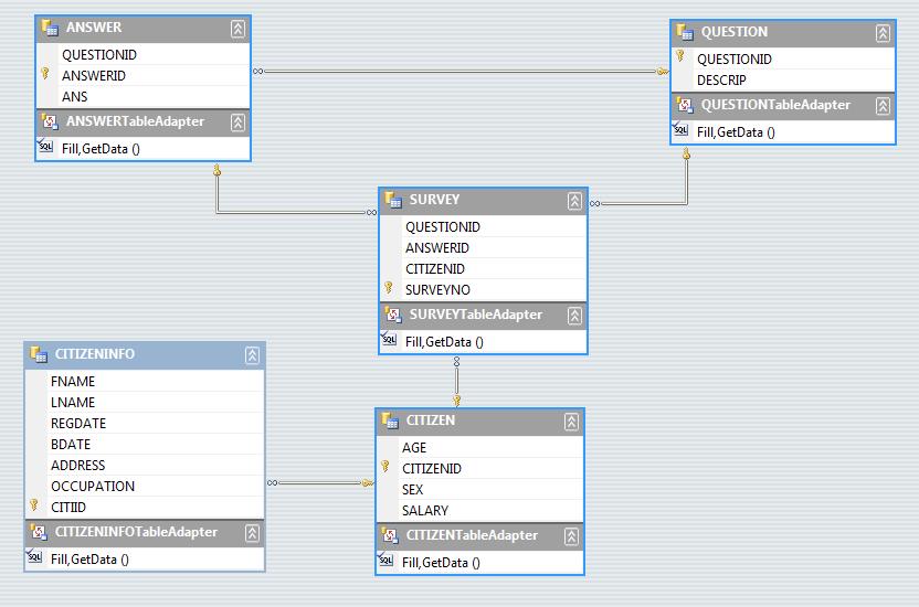 Make A Database Management System For Survey Part 1
